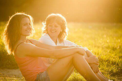 Mor og datter