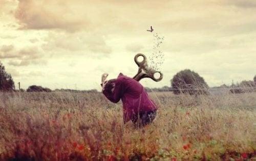 Emosjonelle kvaler: den paralyserende overveldende frykten