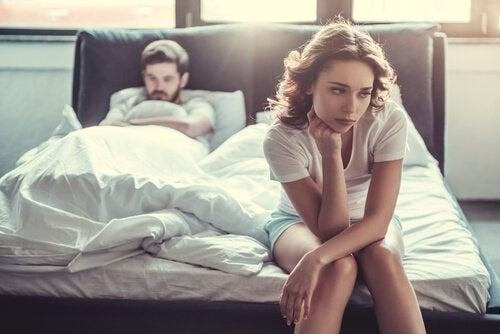 6 vanlige seksuelle problemer hos kvinner og menn