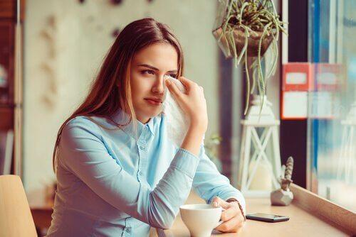 brudd kan forårsake depresjon