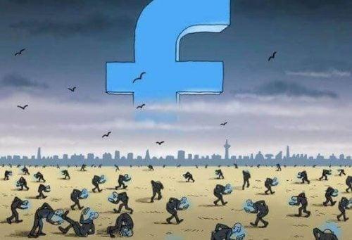 Facebook avhengig