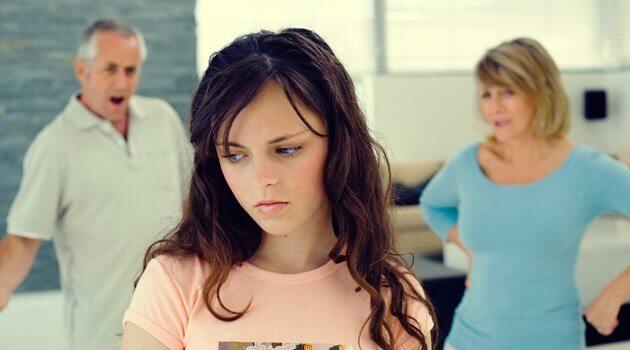 tenåring får kjeft