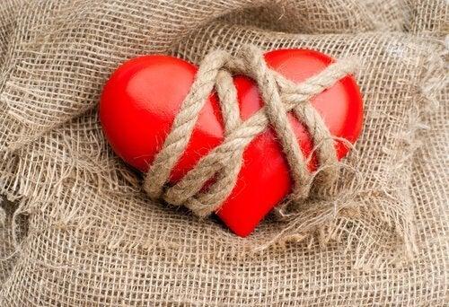 fanget hjerte