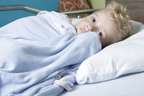 Barn med kreft