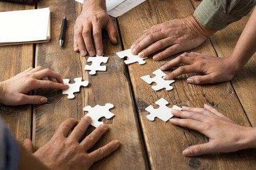 Samarbeid er som et puslespill