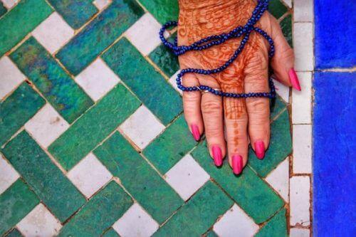 henna tattovering