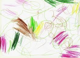et barns første tegning