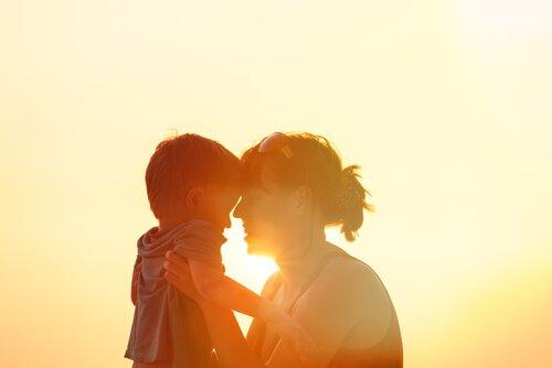Mor med barn