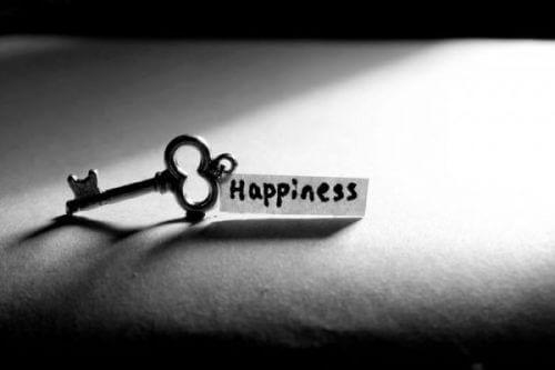 Nøkkelen til lykke kommer ikke i form av penger