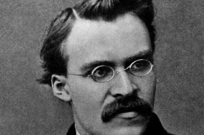 Portrett av Nietzsche