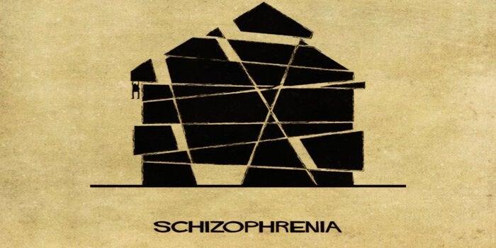 Schizofreni som hus
