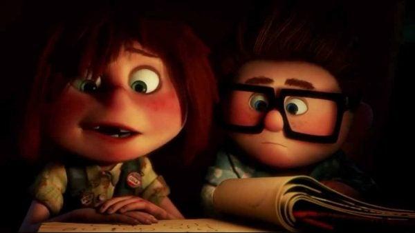 Carl og Ellie i Se opp