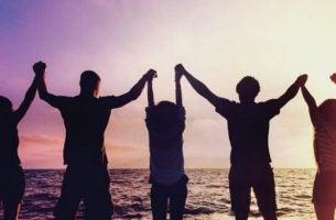 5 typer venner