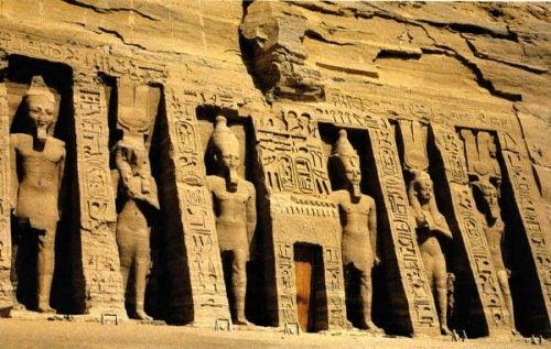 Nefertaris tempel, inspirert av kjærlighet.