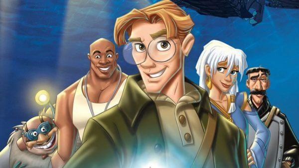 Atlantis karakterer