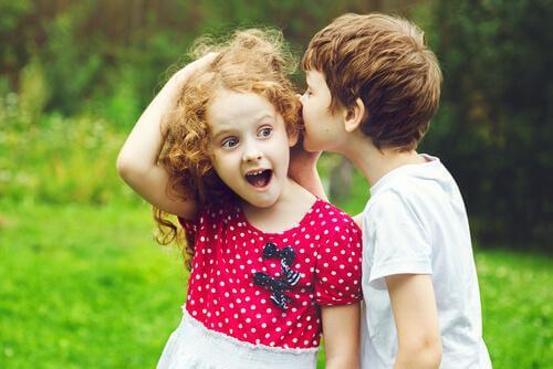 lingvistiske feil og barn snakker