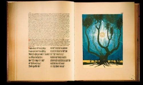 To sider fra Den Røde Bok