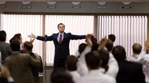 Leonardo Di Caprio i Wolf of Wall Street
