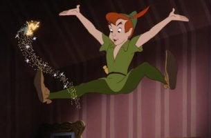 Peter Pan, fortellingen om en gutt som ikke ville vokse opp