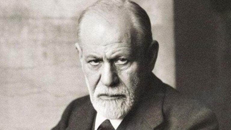 Portrett av Sigmund Freud