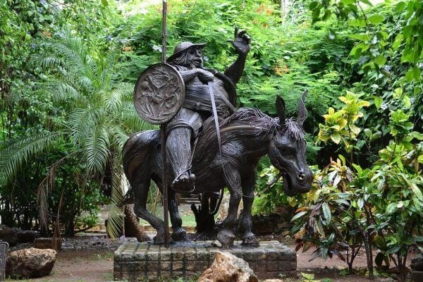 Don Quijote og Sancho Panza