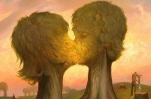 Den romantiske kjærlighetens evolusjon