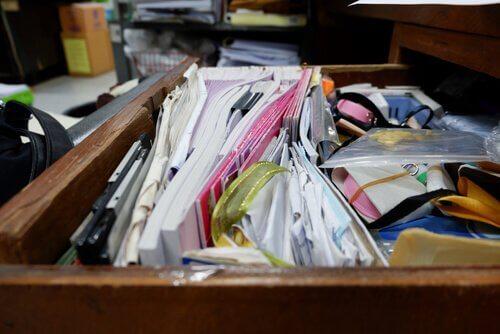 Samlemani: problemer med bli kvitt ens eiendeler