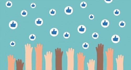 Sosiale medier likerklikk