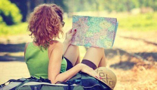 Å reise forbedrer hjernens helse, men hvordan?
