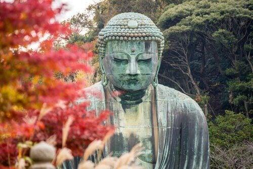 Statue av Buddha