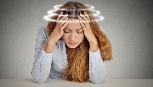 Angst kan forårsake svimmelhet, men hvordan løse det?