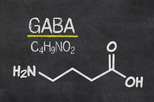GABA kjemisk formel.