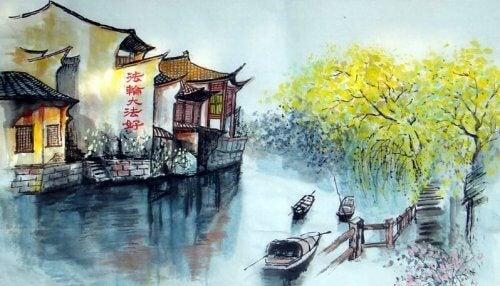 Å krysse elven: en urgammel Zen-fortelling