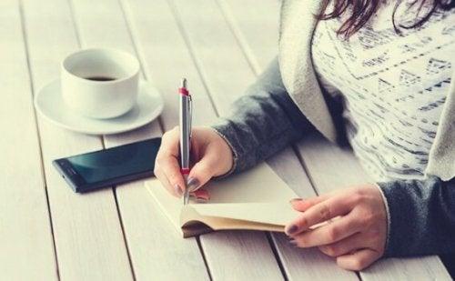 5-minuttersdagboken: en vei til ro og tilfredshet
