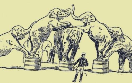 Den lenkede elefanten