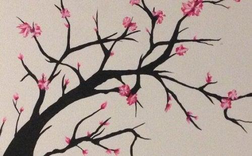 Legenden om Sakura forteller historien om et tre som aldri blomstret.