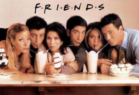 Friends definerte en generasjon