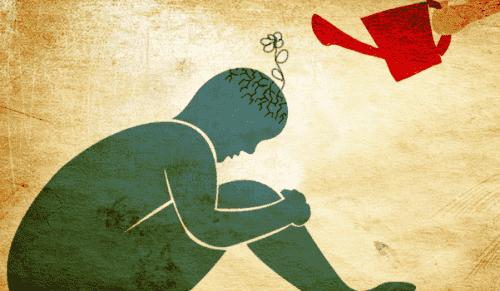 Søyler av jungisk terapi for å behandle angst