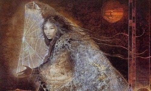 Legenden om drømmefangeren involverer Iktomi, Lakota-folkets gud for visdom og lureri.