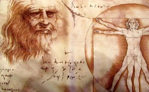En Leonardi da Vinci-tegning