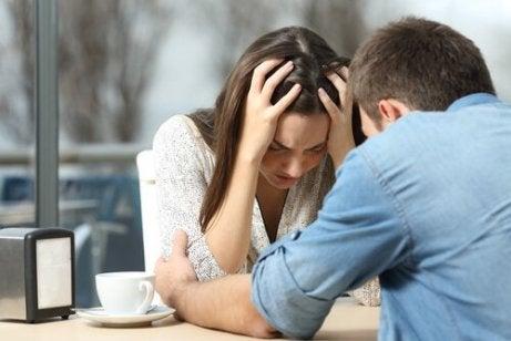 Når vår partner ikke forstår vår depresjon