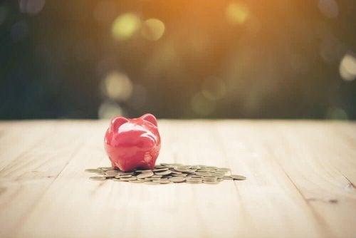Spargris for å forenkle økonomien