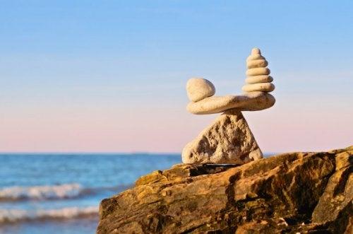 Metafor av steiner
