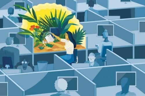 Mindfulness på jobb: 6 nøkler til helse og velvære