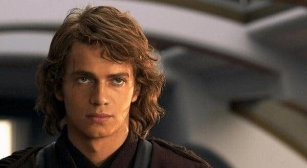Anakin Skywalker som tenåring.