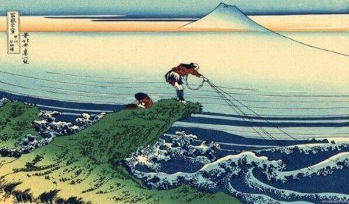 Samuraien og fiskeren: En vakker historie