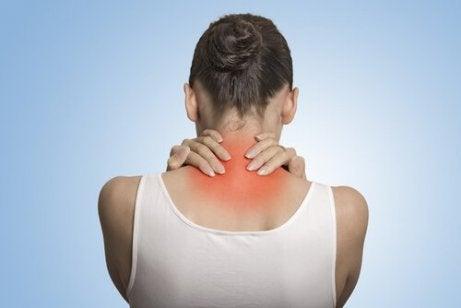 Nakkesmerter er en av de vanligste fysiske symptomene på depresjon