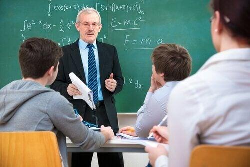 Lærer og elever