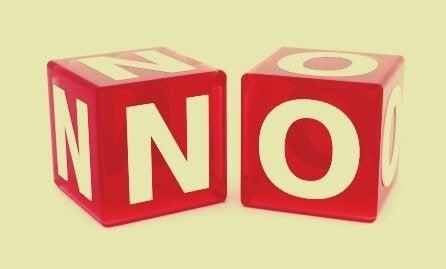 """Å si """"nei"""" som et verktøy for å nøytralisere en narsissist"""