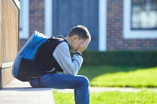 Hvordan ser elever med skoleangst på skolen?